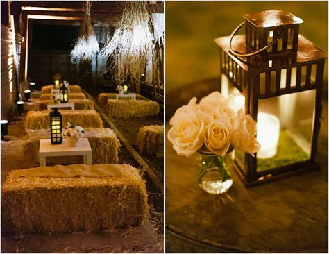 Elegant Wedding in a Barn   Inspired By This
