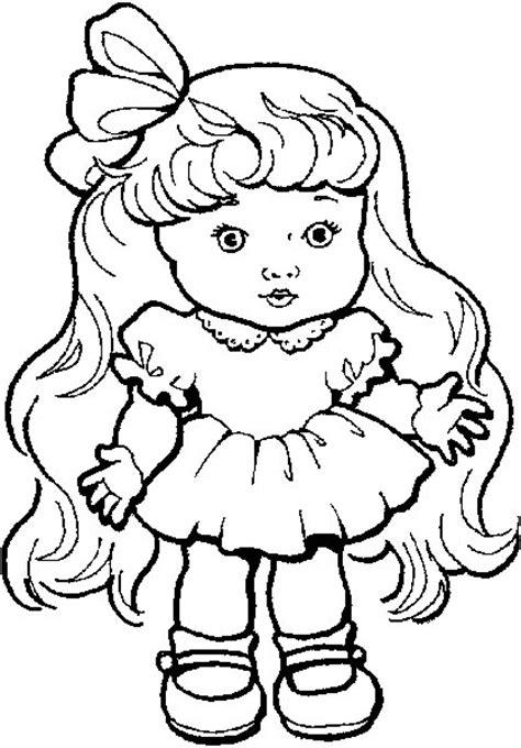 coloring page baby doll quot educar para a vida quot brinquedos e brincadeiras para colorir