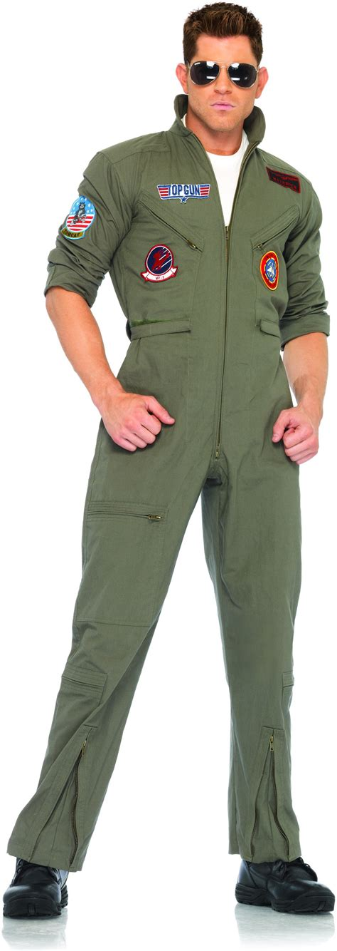 best costumes c222 top gun mens flight suit licensed deluxe costume