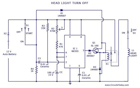 wonderful automotive lighting system wiring diagram
