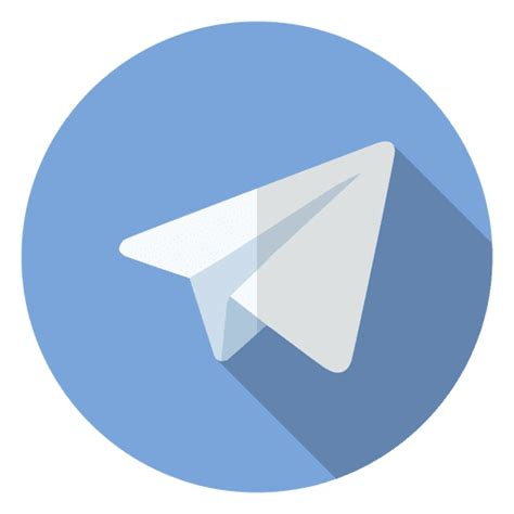 telegram icon logo transparent png svg vector