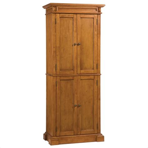 home styles kitchen distressed oak finish pantry ebay
