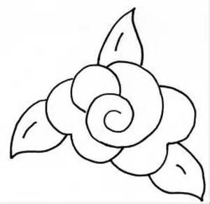 Rose Templates Free Rose Template Stencil Images