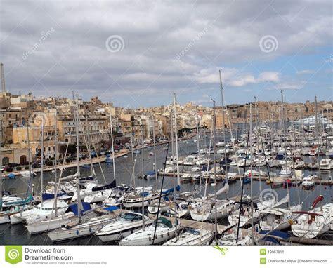 boat marina ta bay boat and yacht marina in vitriossa malta editorial photo