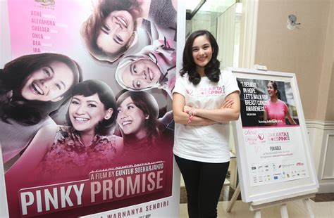 pinky promise film indonesia pinky promise film paling berkesan bagi chelsea islan