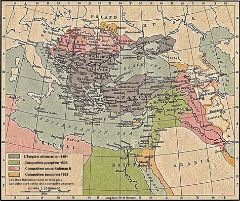 Carte De L Empire Ottoman by Empire Ottoman