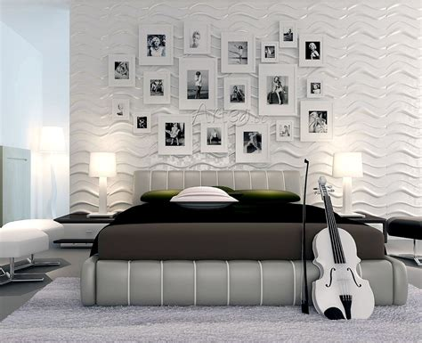 3d Wall Designs Bedroom Living Room Wall Panels