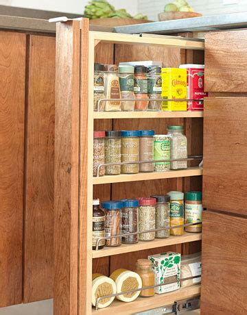spice rack for small cabinet 7 space saving tricks for small kitchens live to eat