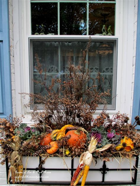 fall flowers for window boxes fall decorating at our fairfield home garden our