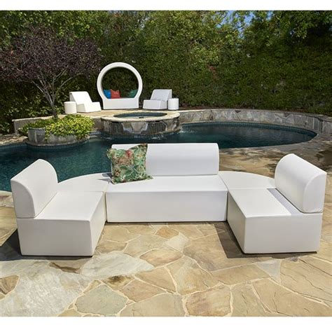 la fete outdoor furniture la fete zig duo modular outdoor chair modern