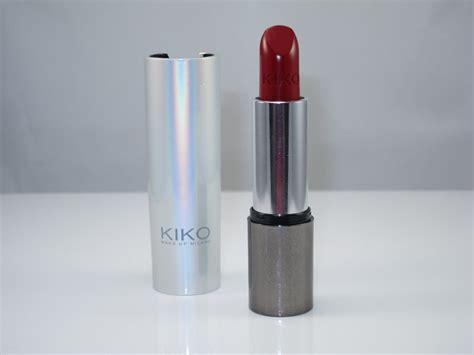 Lipstik Kiko kiko lipstick review swatches musings