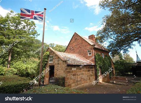 Cook Cottage Melbourne by Captain Cooks Cottages Melbourne Australia Stock Photo