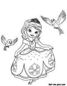 princess sofia coloring pages printable disney princesses sofia the coloring pages
