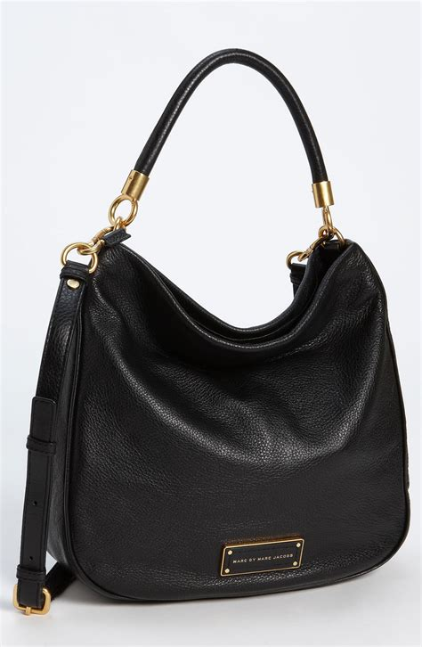 lyst marc  marc jacobs  hot  handle leather