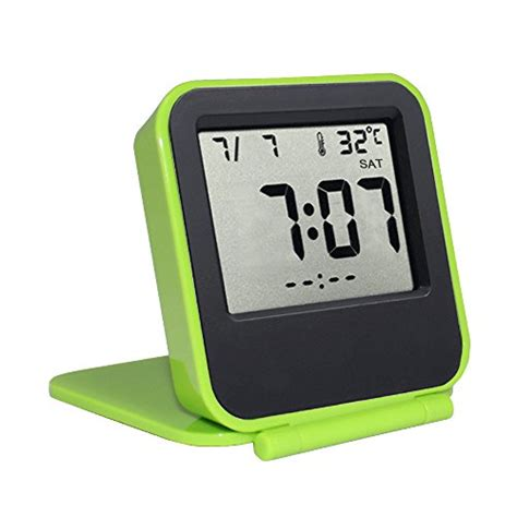 desk clock battery samshow travel alarm clock battery operated portable