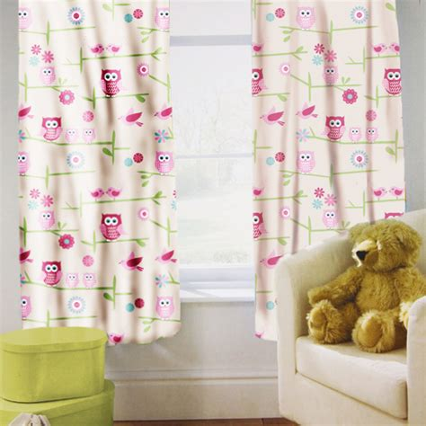 toddler curtains childrens nursery curtains kids junior tweens tape top