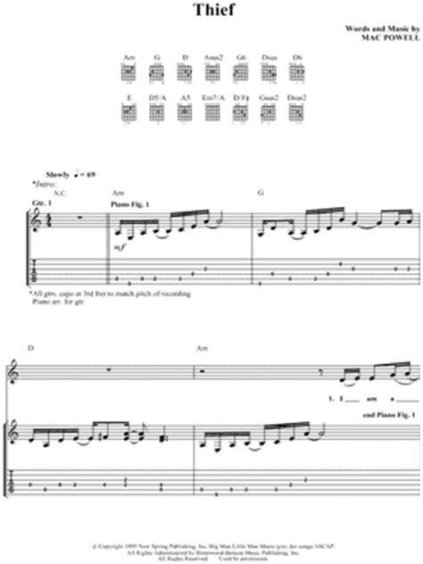Third Day Guitar Chords