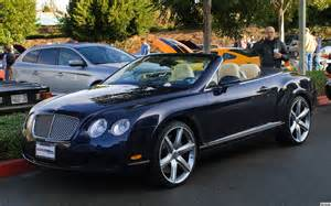 Bentley Convertible Blue 2010 Bentley Continental Gt Convertible Navy Blue