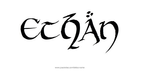 ethan tattoo ethan name designs