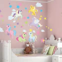 unicorn and pegasus wall decals unicorn bedroom