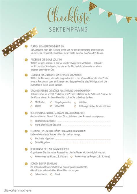 Hochzeitseinladung Nur Sektempfang by Sektempfang Organisieren Tipps Checkliste F 252 R Ihre Hochzeit