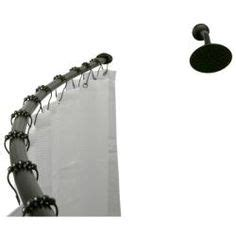 Bath Bliss Curved Shower Rod 1000 ideas about shower rod on pinterest cheap shower