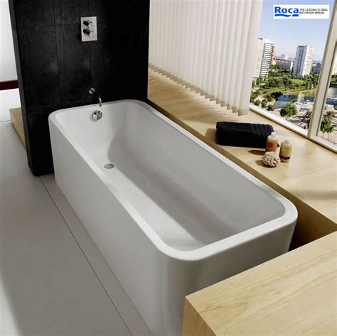 roca bathtubs roca elements 1800 x 800mm luxury acrylic bath uk bathrooms