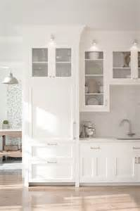 Glass Front Kitchen Cabinet Doors Integrated Refrigerators That Look Like Cabinets Fridge
