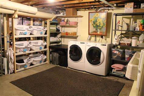 22 basement laundry room ideas to try in your house