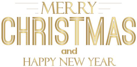 merry christmas  happy  year text png clip art gallery yopriceville high quality