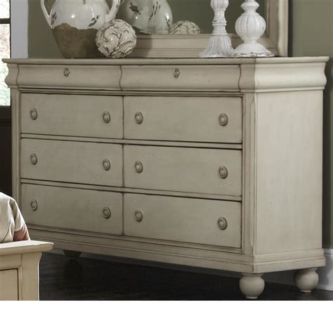 liberty furniture white dresser liberty furniture rustic traditions eight drawer dresser