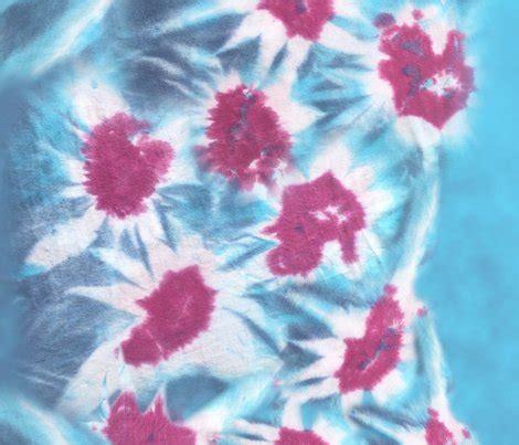 flower pattern tie dye tie dye flower fabric danidesign spoonflower