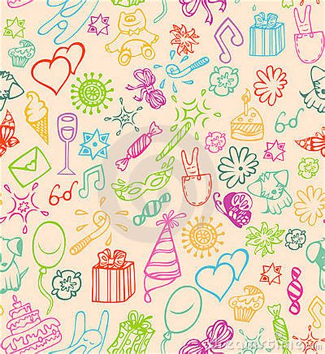 Stensil Stencil Motif Happy Birthday Bunga Dekorasi happy birthday pattern stock photos image 18299603
