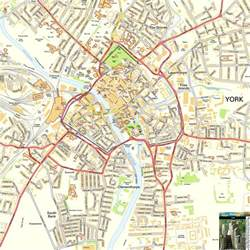 New York New York Map by York Offline Street Map Including The Minster City Walls