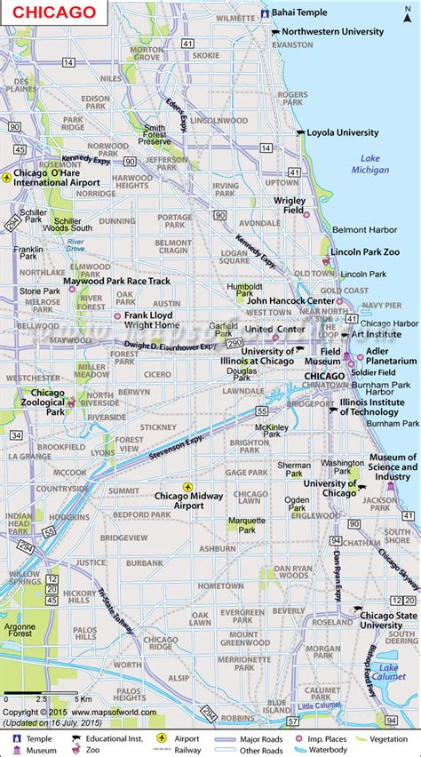 chicago map in usa maps usa map chicago
