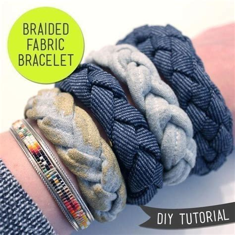 diy bracelet materials diy braided fabric bracelet 183 how to make a braided fabric