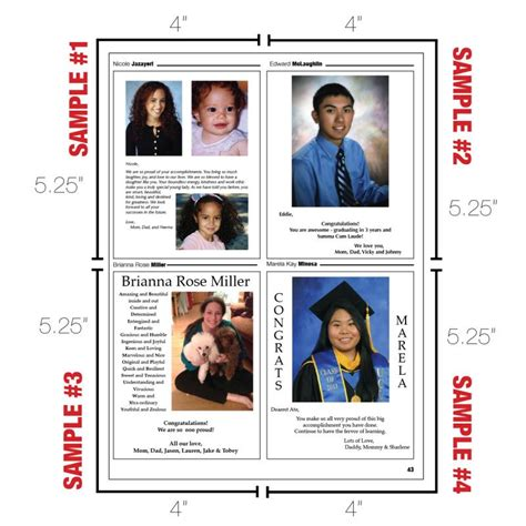 free yearbook templates yearbook page templates shatterlion info