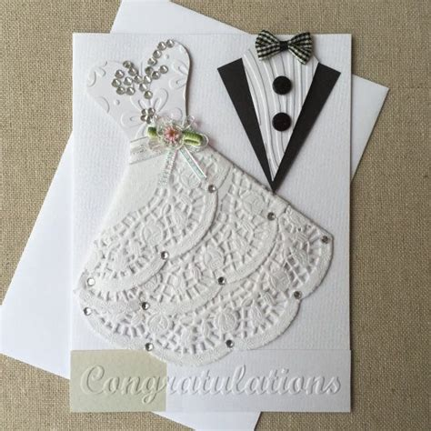 How To Handmade Cards - 25 best ideas about wedding cards on