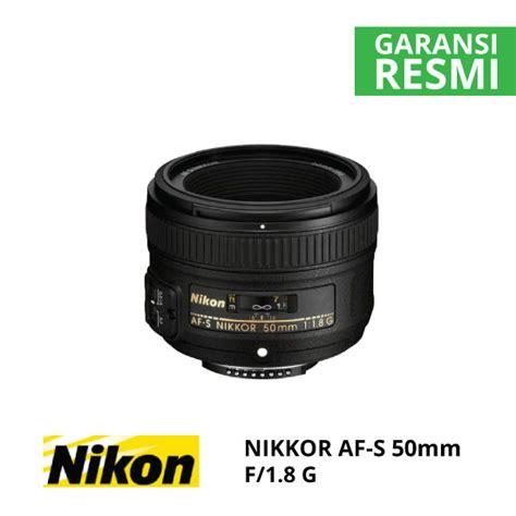 Lensa Nikon 35mm F 1 8g nikon af s nikkor 50mm f 1 8g harga dan spesifikasi