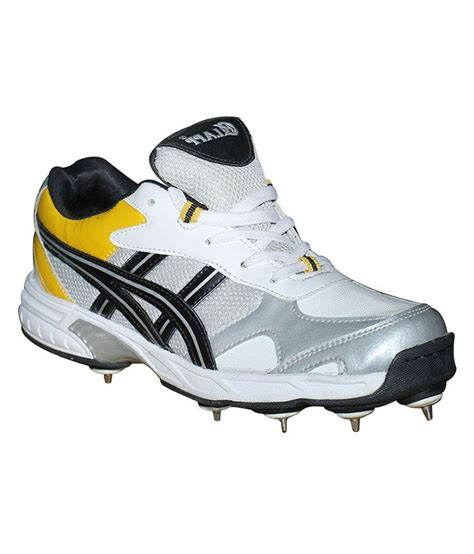 klapp white mesh cricket sport shoes buy klapp white