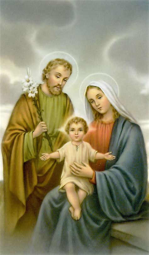Holy Family Cards - holy family prayer card