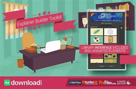 Videohive Explainer Builder Toolkit Free Download Free After Effects Template Videohive Explainer Templates After Effects