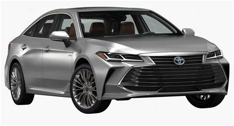 Toyota Models 2019 by 3d 2019 Toyota Avalon Model Turbosquid 1264912