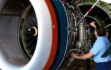Jet Engine Mechanic by The Piedmont Triad An Aviation Spot Airport Journals