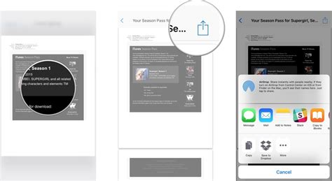 print from iphone how to print mail messages to pdf with 3d touch on iphone imore