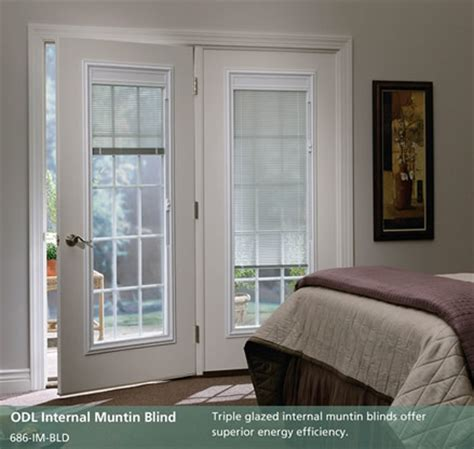 Patio Door With Blinds Inside Doorpro Entryways Inc Patio Doors