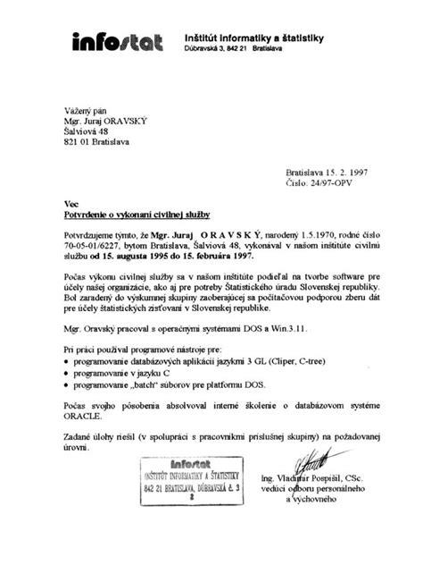 Reference Letter Translation Infostat