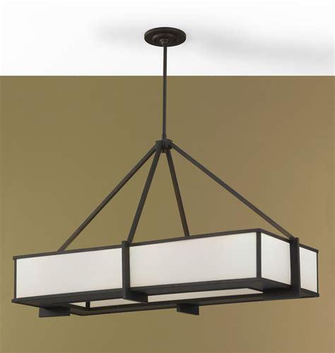 rectangular chandeliers murray feiss f2400 6orb rectangular chandelier