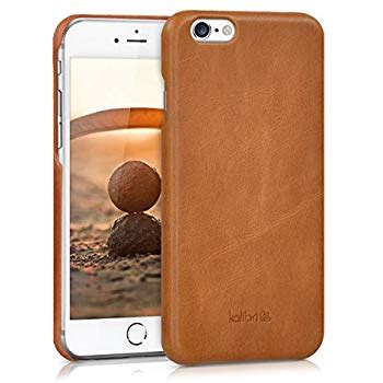 kalibri for apple iphone 6 6s smooth genuine leather anti slip