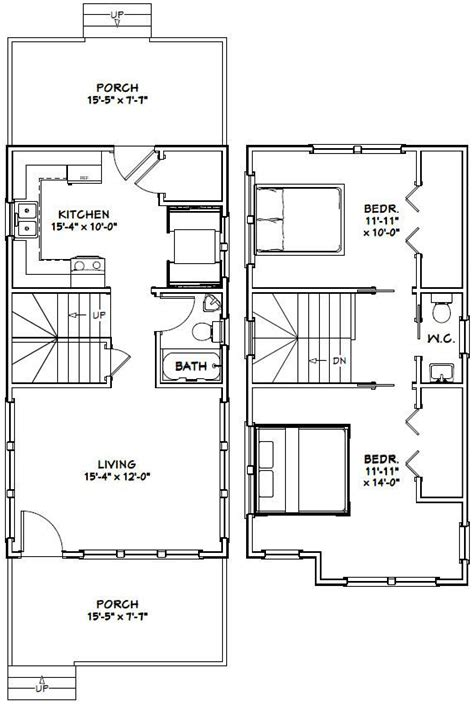 tiny house floor plans pdf 16x30 tiny house 901 sqft pdf floor plan champaign